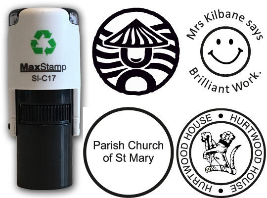 Personalised with your Logo /& Text 69x9mm Custom Rubber Stamp Self Inking